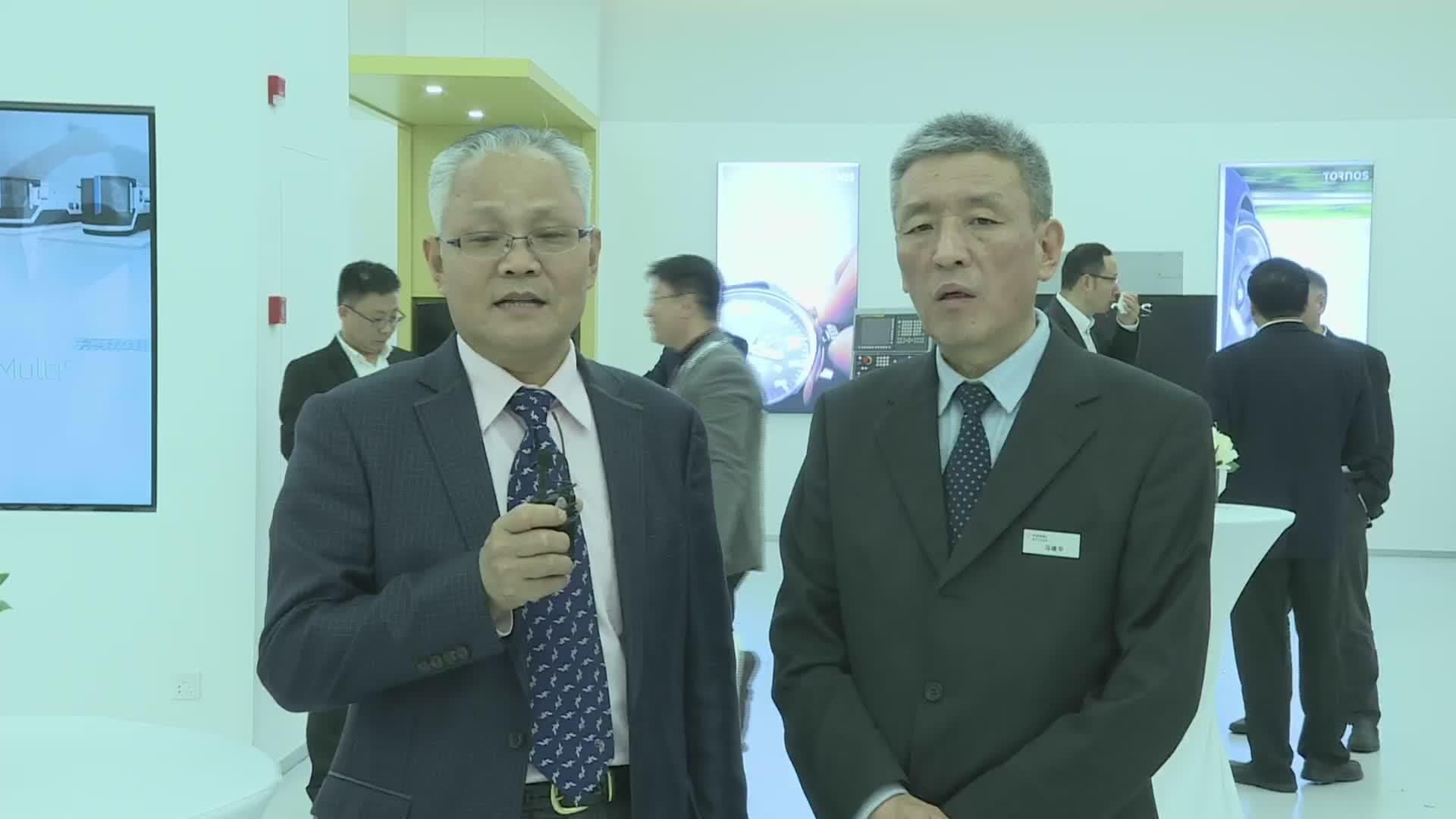 中国机床工具工业协会秘书长 王黎明先生接受MM总编冯建平先生采访