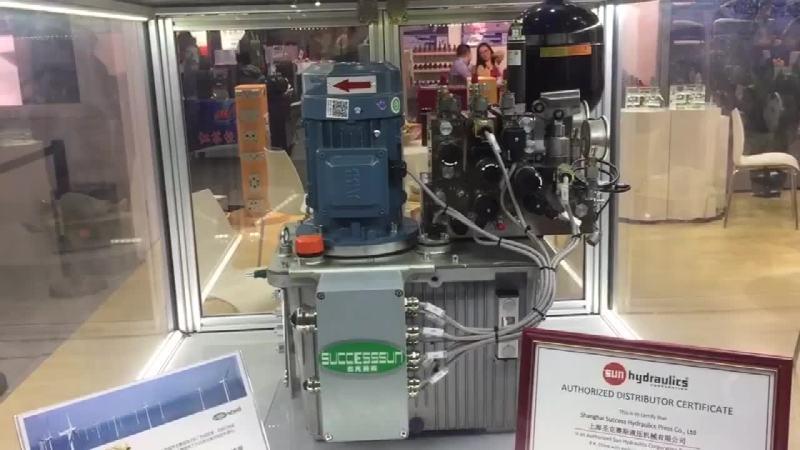 圣克赛斯展台介绍 上海圣克赛斯液压机械有限公司总经理 吴安吉先生