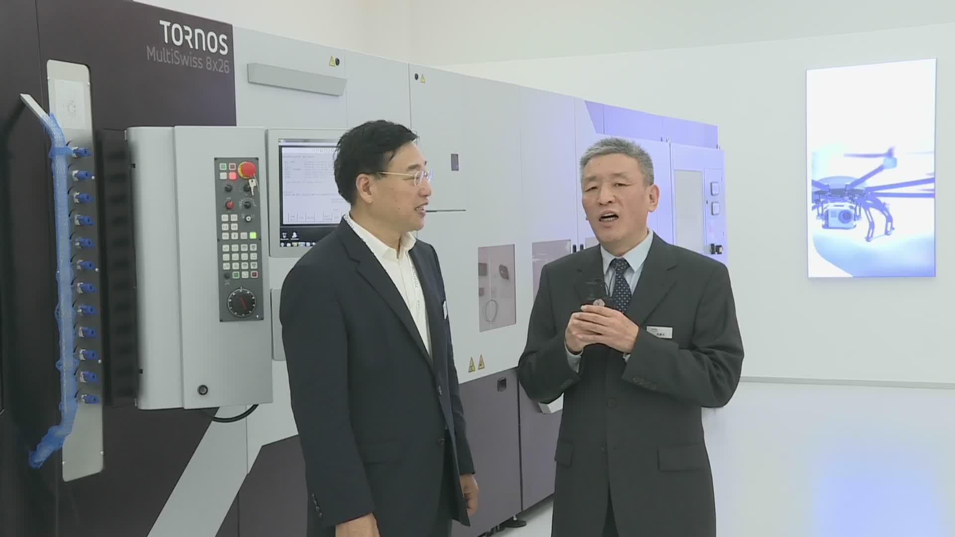 托纳斯大中华地区总经理单锡林先生接受MM总编冯建平先生的采访