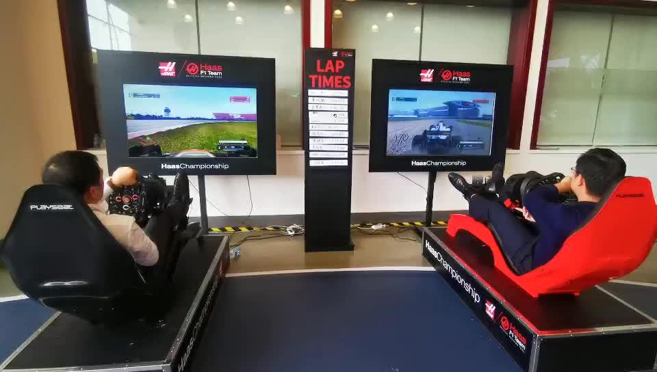 用户体验F1赛车模拟