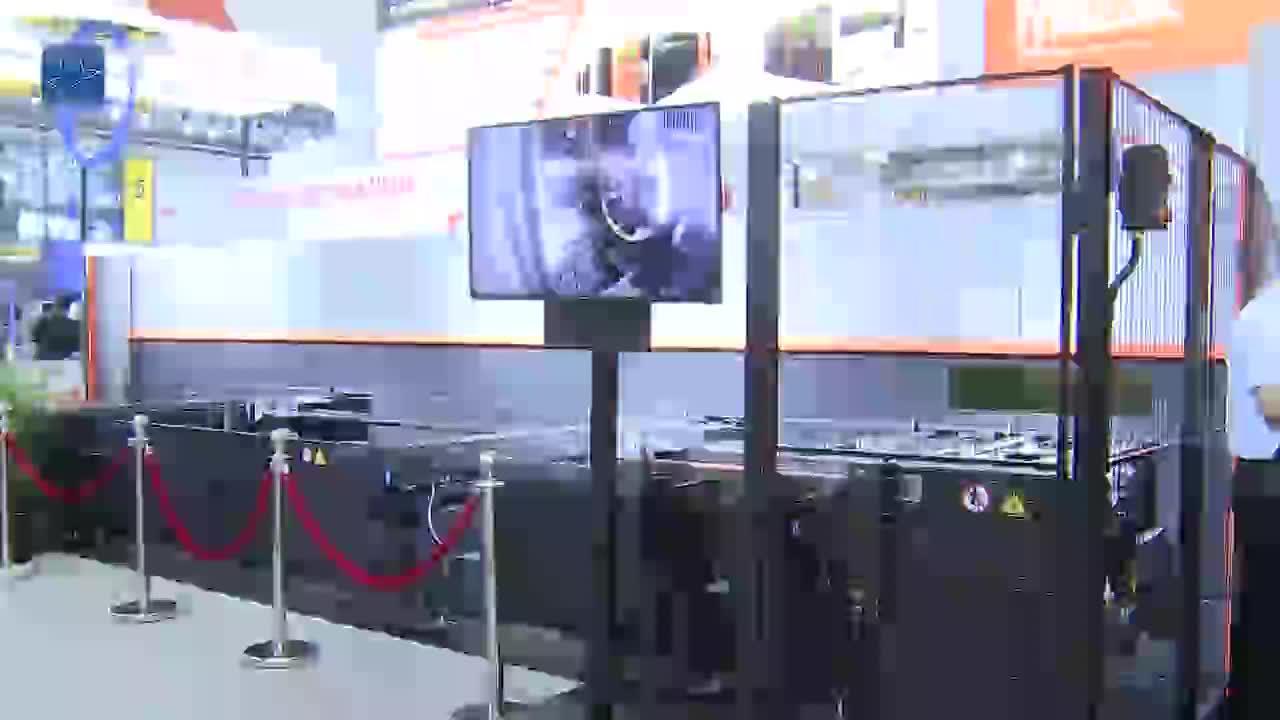 马扎克高速、高精度激光加工设备