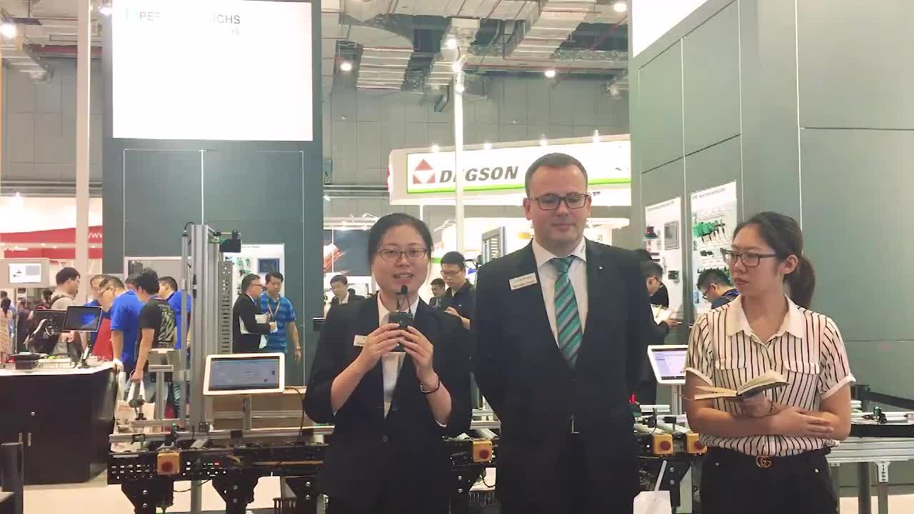 【现场采访】Daniel Winkler先生 上海倍加福工业自动化贸易有限公司总经理