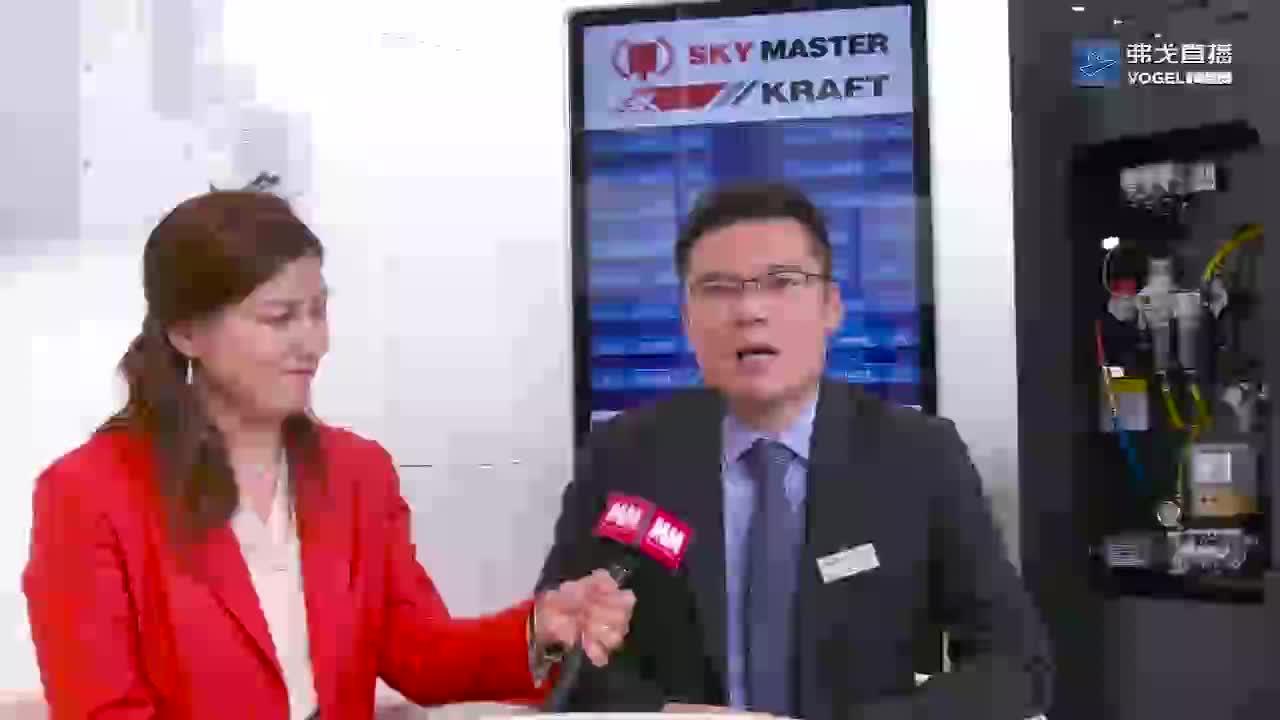 EMO2019高端访谈-天瑞精工:朱炜炜先生 宁波天瑞精工机械有限公司副总经理