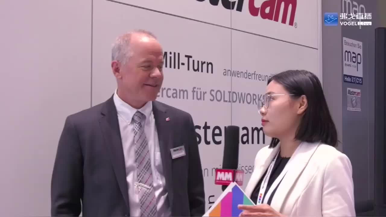 高端访谈-CNC Software.Inc.副总裁Mr. Brian Summers