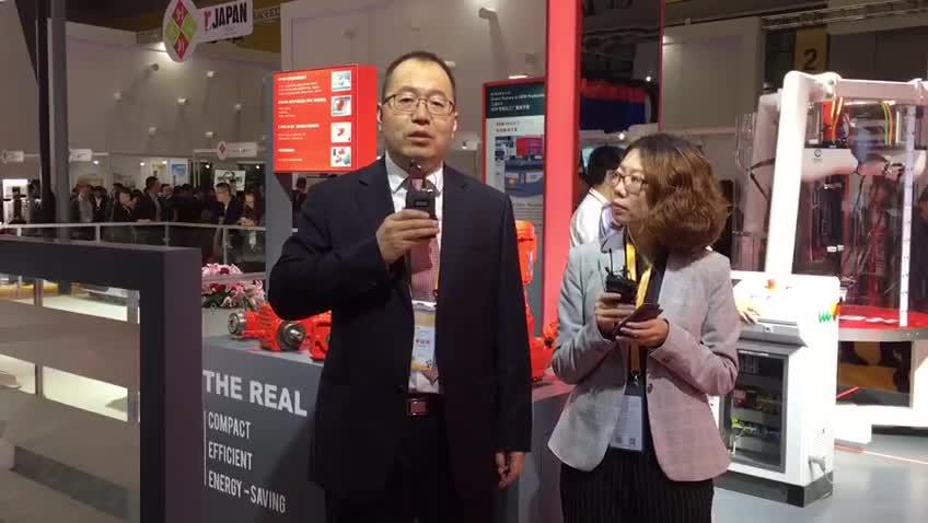 SEW-传动设备(天津)有限公司总经理助理 王广庆先生
