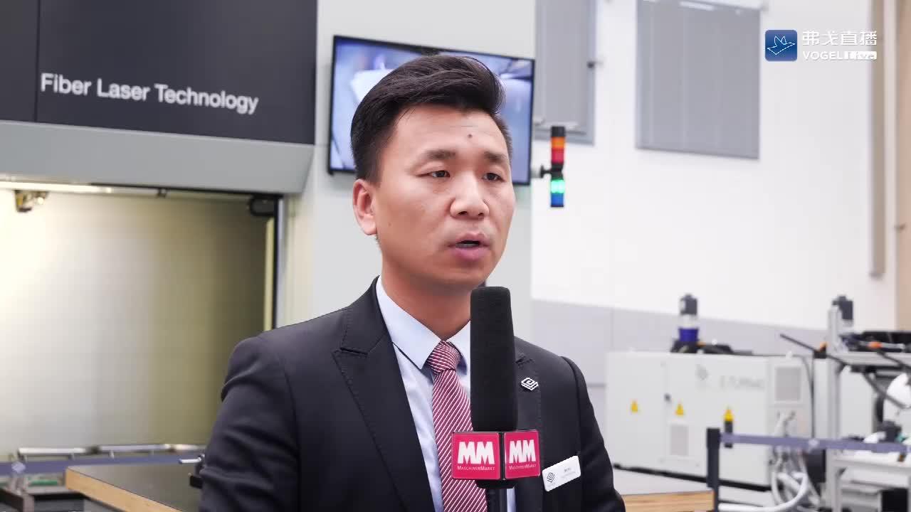 BLM集团五轴激光切割机介绍