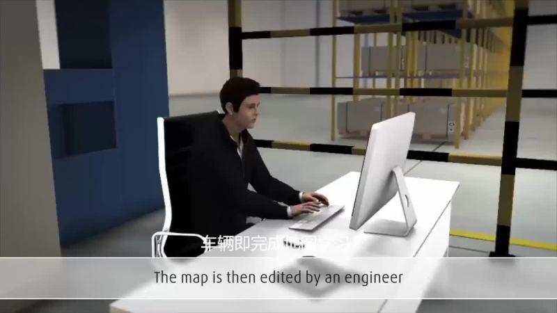 Linde robotics自然导航技术
