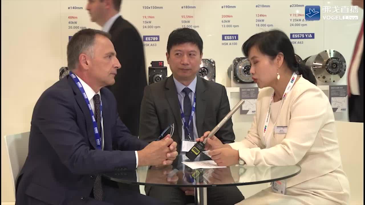 EMO2019高端访谈-HSD:Mr. Giuseppe Benelli 意大利HSD公司亚太区高级销售经理