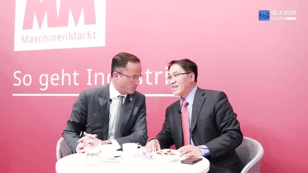 专家点评-汉诺威展览公司主席Jochen Koeckler先生