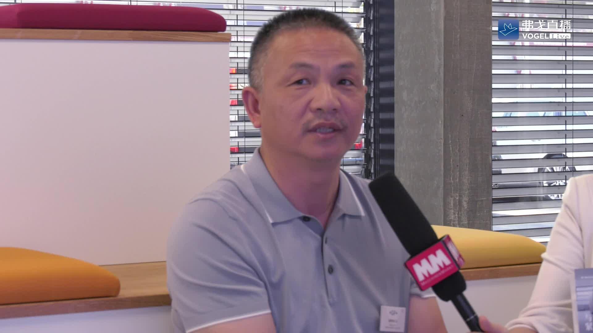 【用户声音】黎世海先生 德阳钰鑫机械制造有限公司总经理